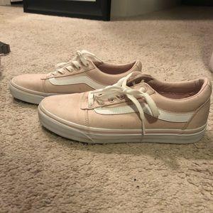 Vans Shoes - Pink old school vans